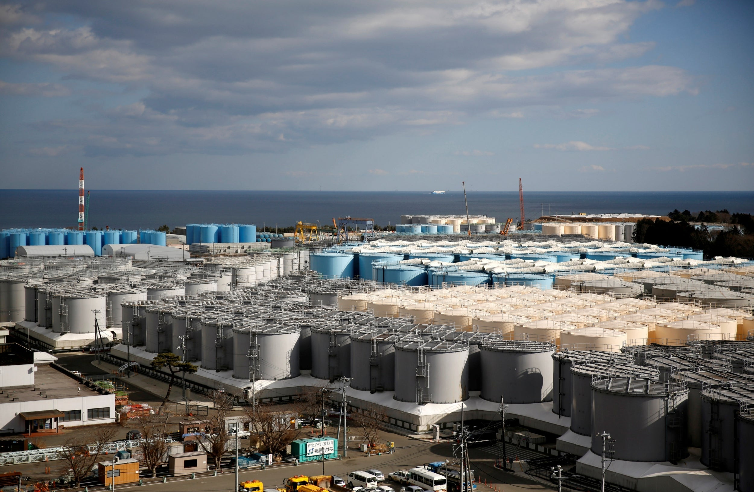 Japan to dump radioactive water from Fukushima nuclear disaster into the sea