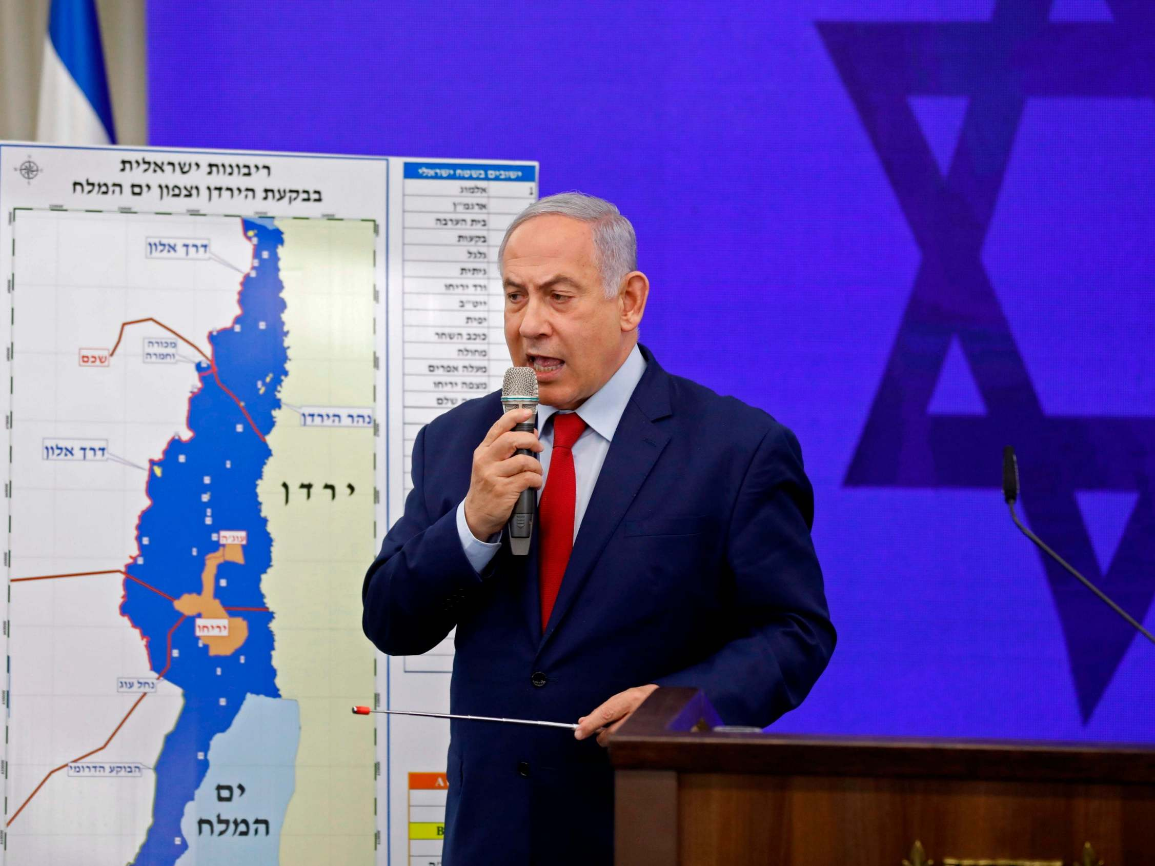 Israel's Netanyahu promises to annex Jordan Valley, in occupied West Bank, if elected