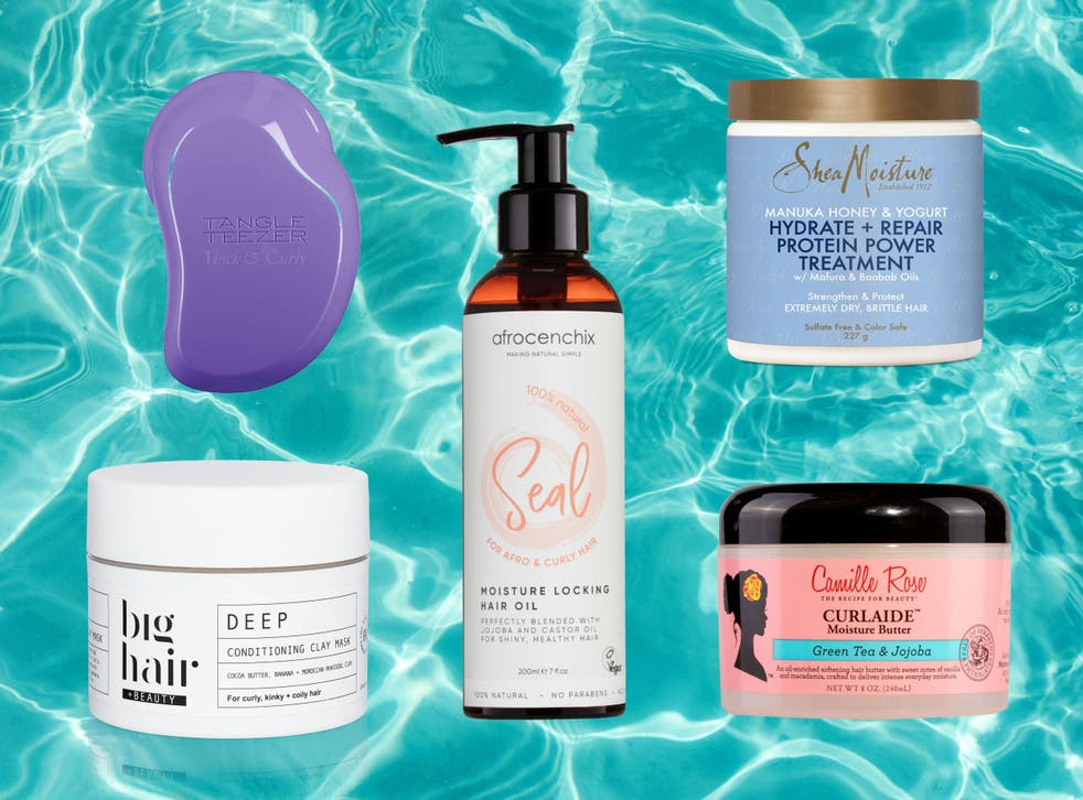 These products lock in moisture for voluminous, bouncy hair