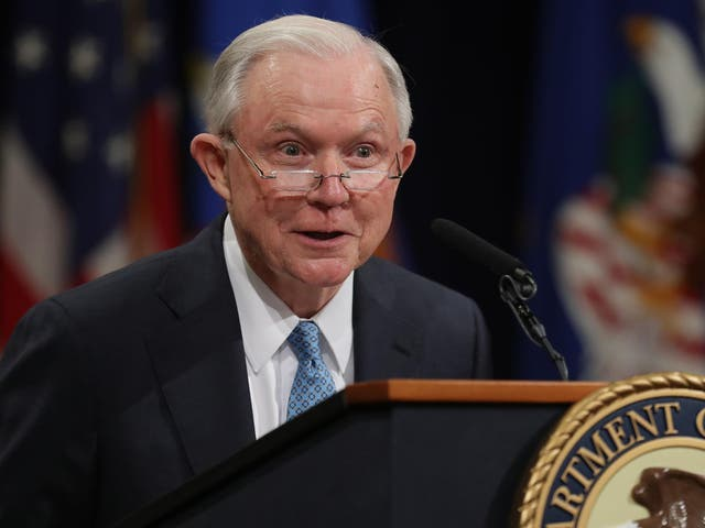 Former US Attorney General Jeff Sessions