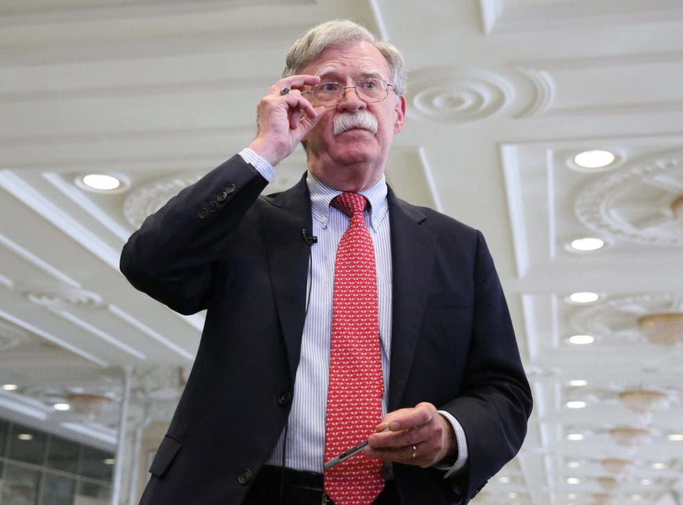 John Bolton frequently disagreed with the president on the stance his country should be taking.