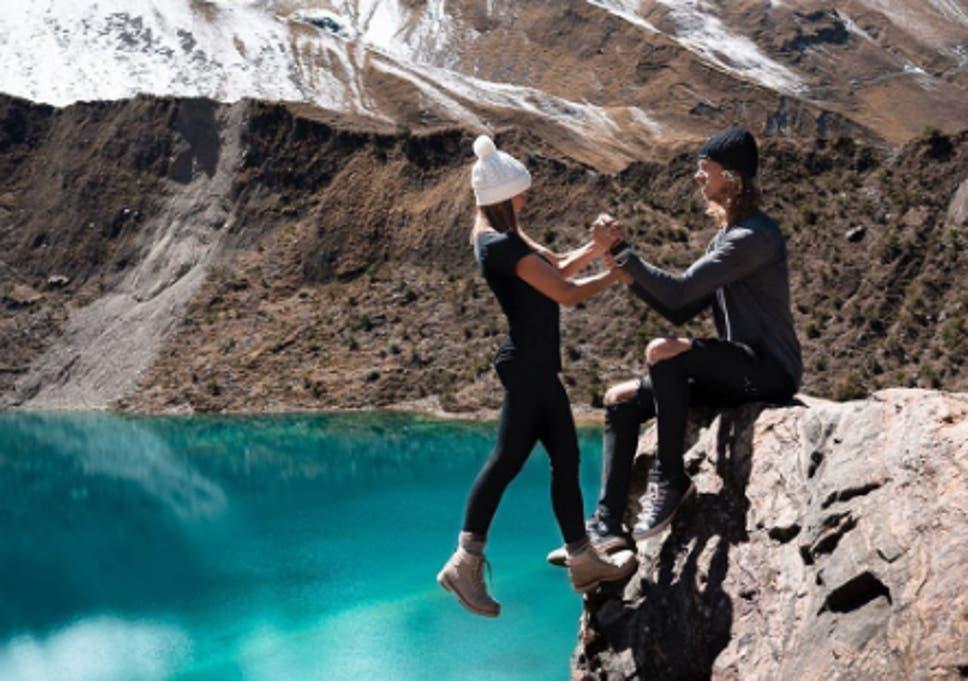 Travel influencer couple defend 'stupid beyond belief' photo