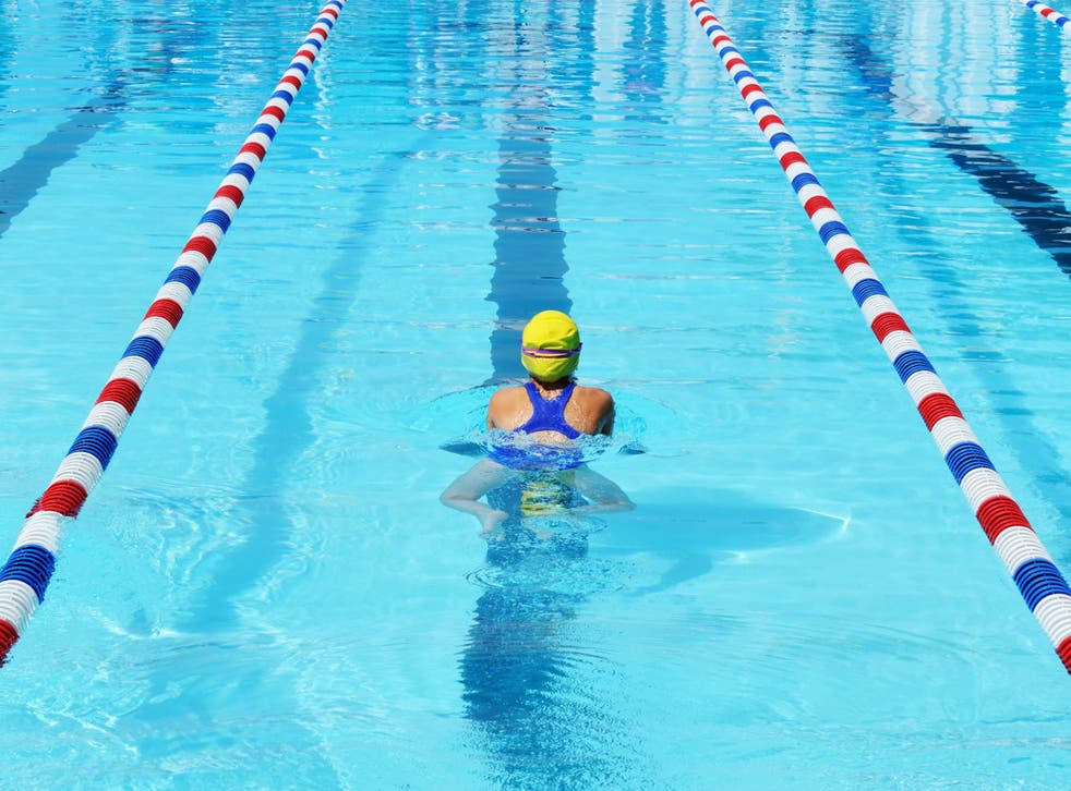 Set a goal – like learning to swim – that has more to do with self-improvement rather than self-criticism