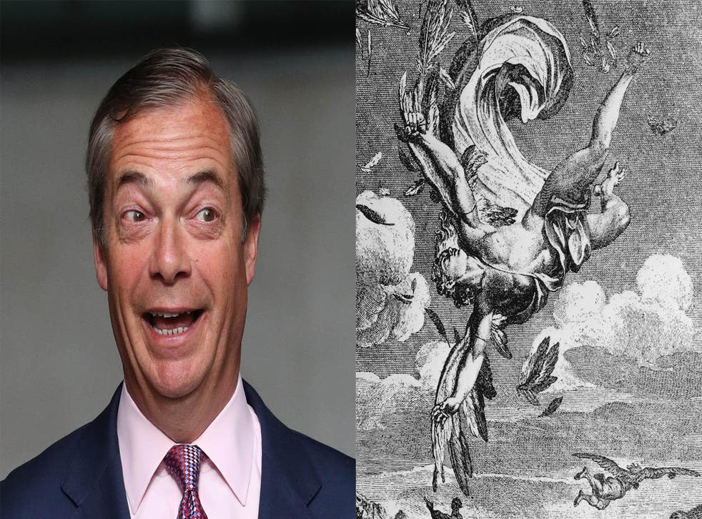 Nigel Farage and his Ancient Greek counterpart