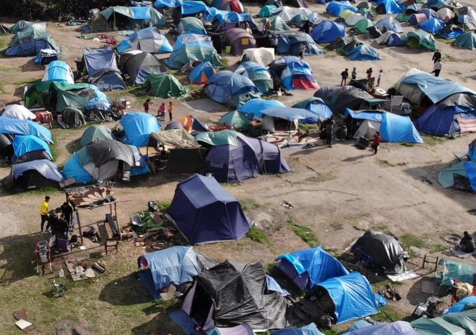 Calais camp evictions fuelling rise in Channel crossings as