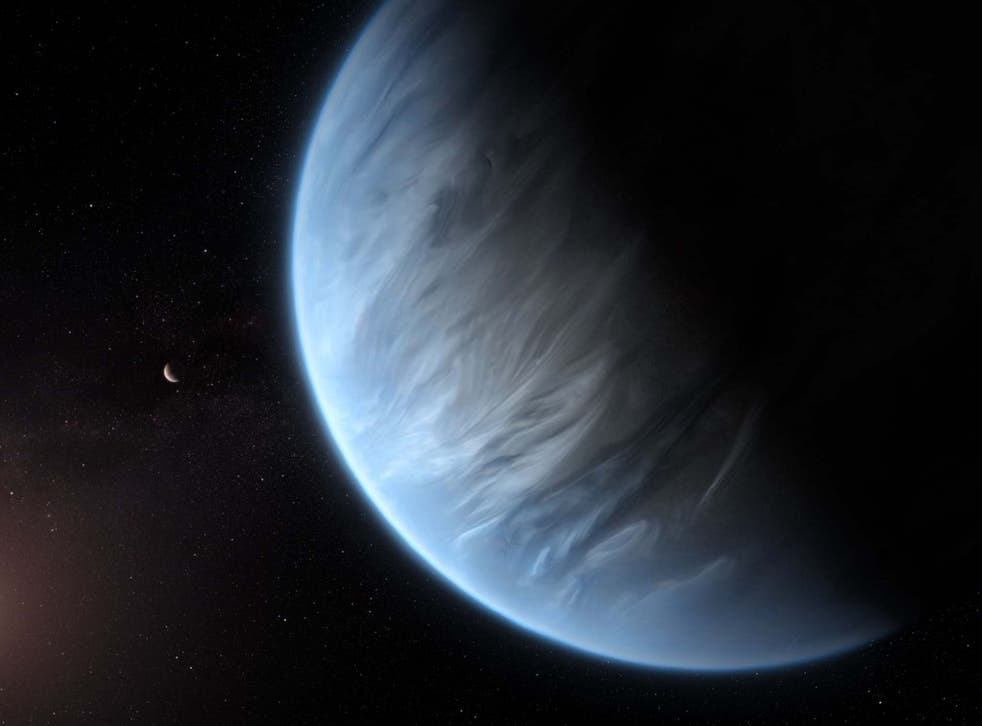 Scientists found water on distant 'super-Earth' K2-18b