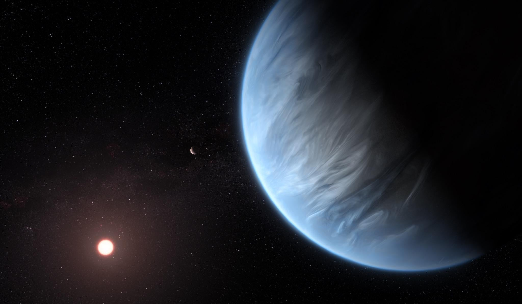 Water is found on habitable alien exoplanet for the first time, scientists say - The Independent