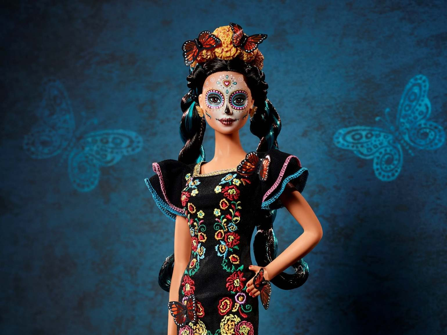 'Day of the Dead' Barbie launches today in celebration of Mexican holiday