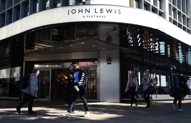 John Lewis has announced that it slipped into the red during the first half of its financial year