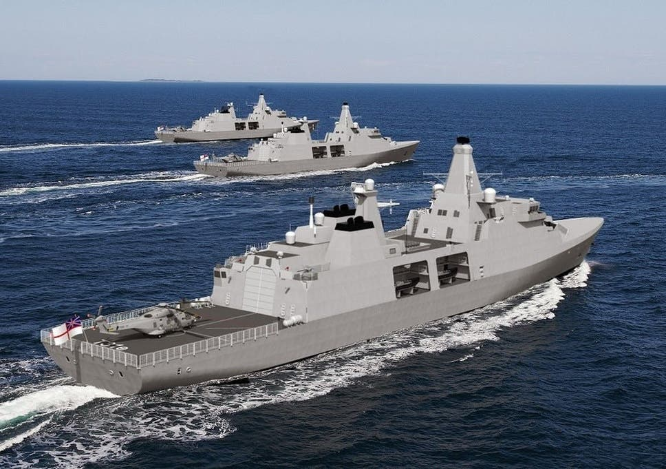 Babcock wins royal navy shipbuilding contract that is set to