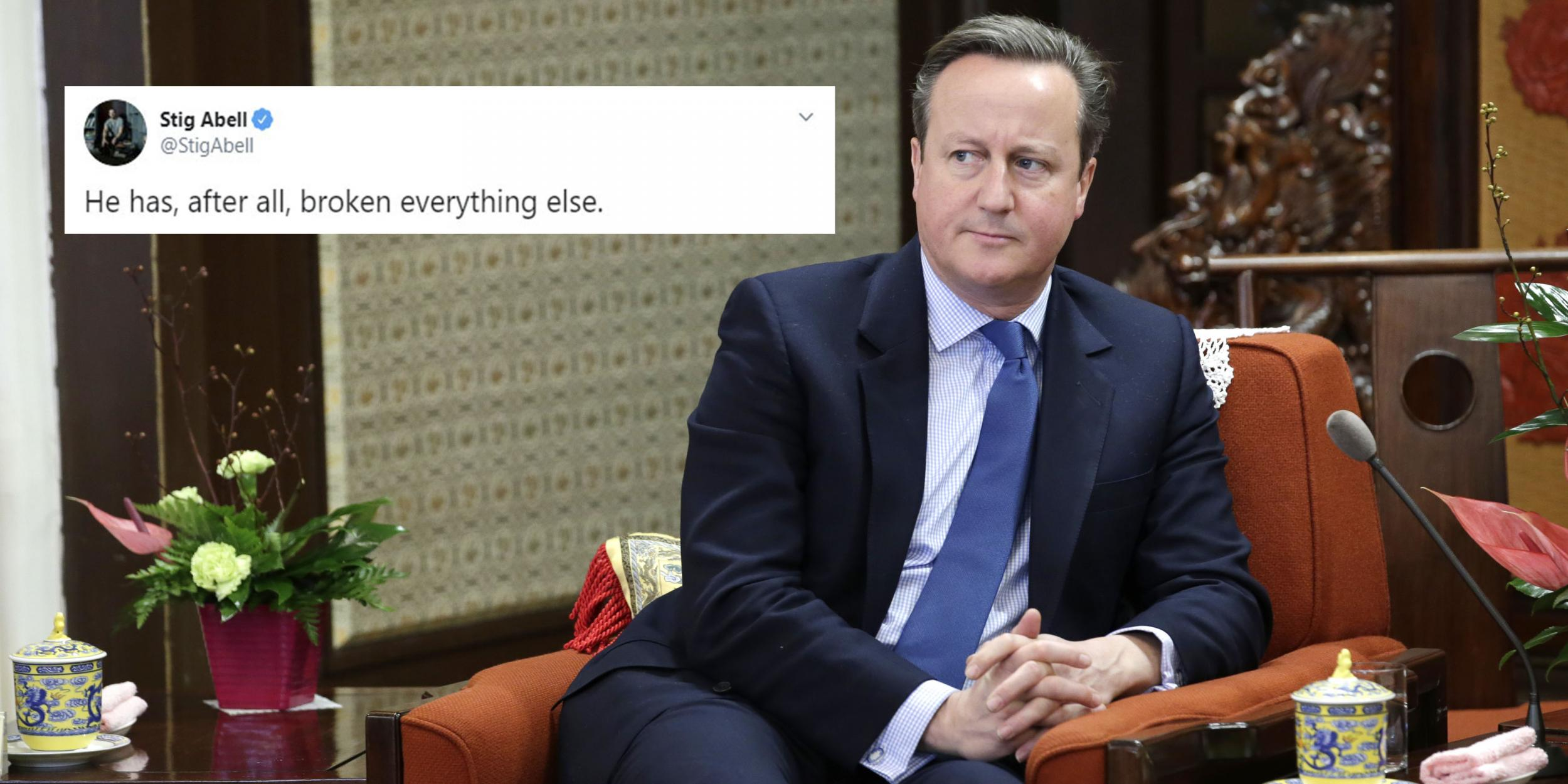 David Cameron is about to 'break his silence' and everyone is making…