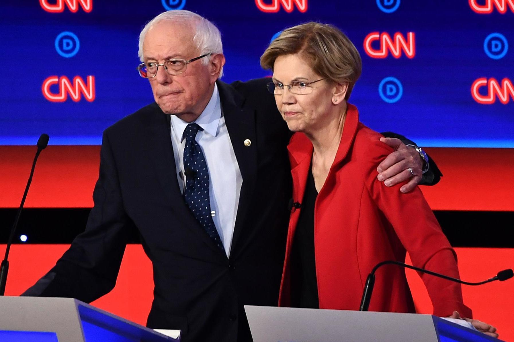 Democratic debate - live: Biden, Sanders and Warren face off for first time in tonight's 2020 showdown
