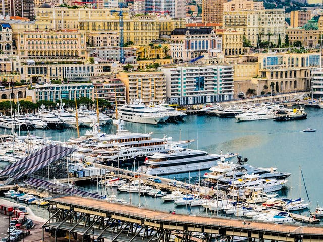 The yachts on the docks of Monte Carlo are symbols of extravagant wealth