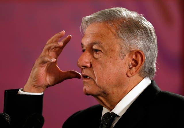Mexican President Andres Manuel Luis Obrador campaigned on a platform of cracking down on drug cartels.
