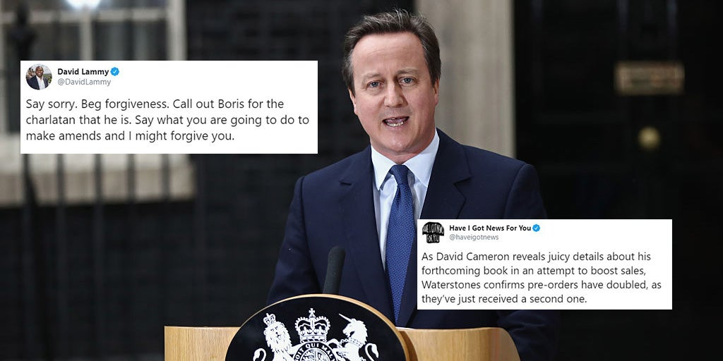 David Cameron said he is 'truly sorry' for Brexit and people aren't …