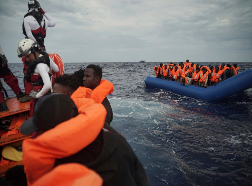 82 migrants rescued by the Ocean Viking will be allowed to dock on Italian island of Lampedusa