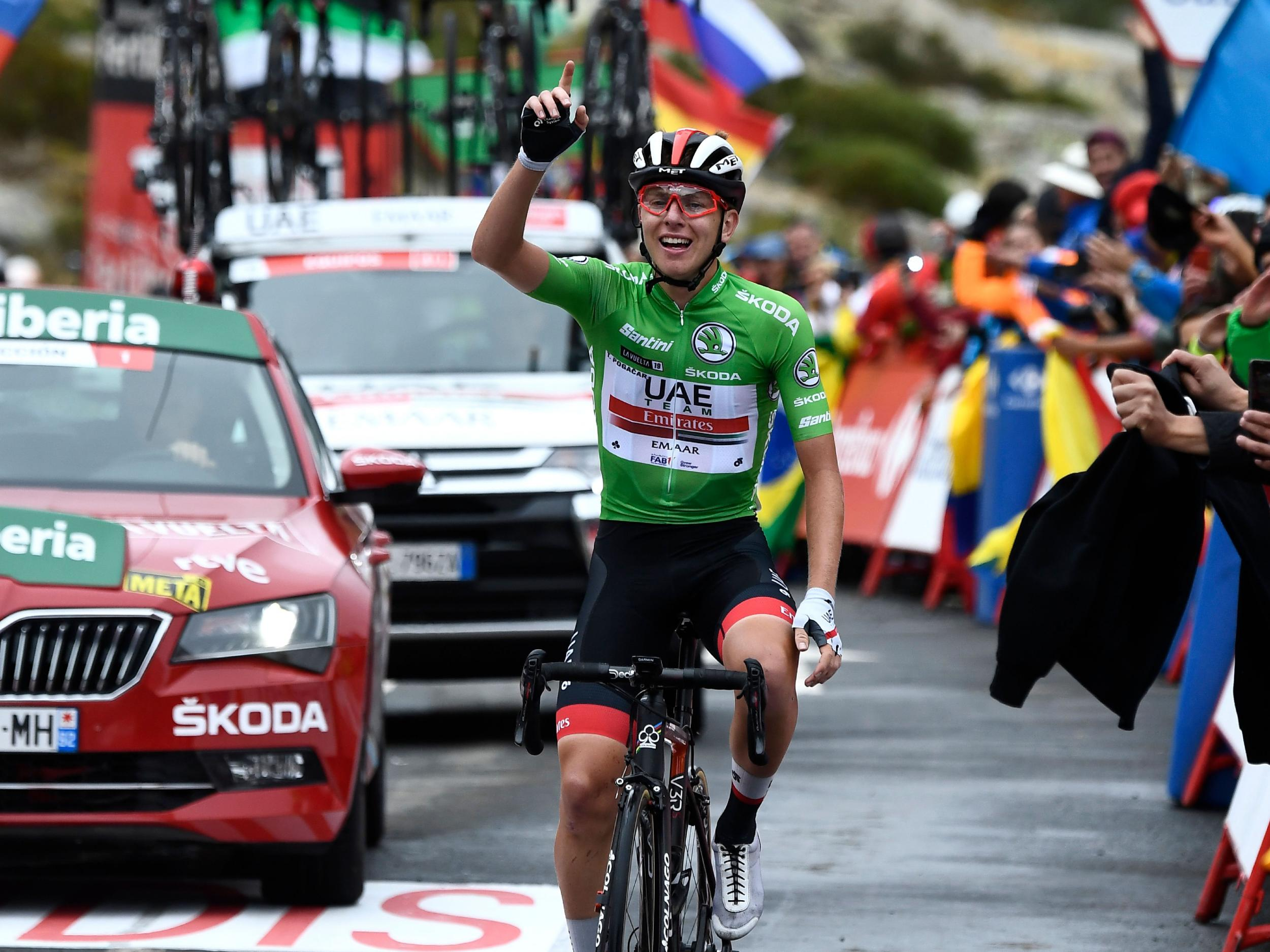 Vuelta a Espana 2019: Primoz Roglic nears overall victory as Tadej Pogacar claims another superb stage win