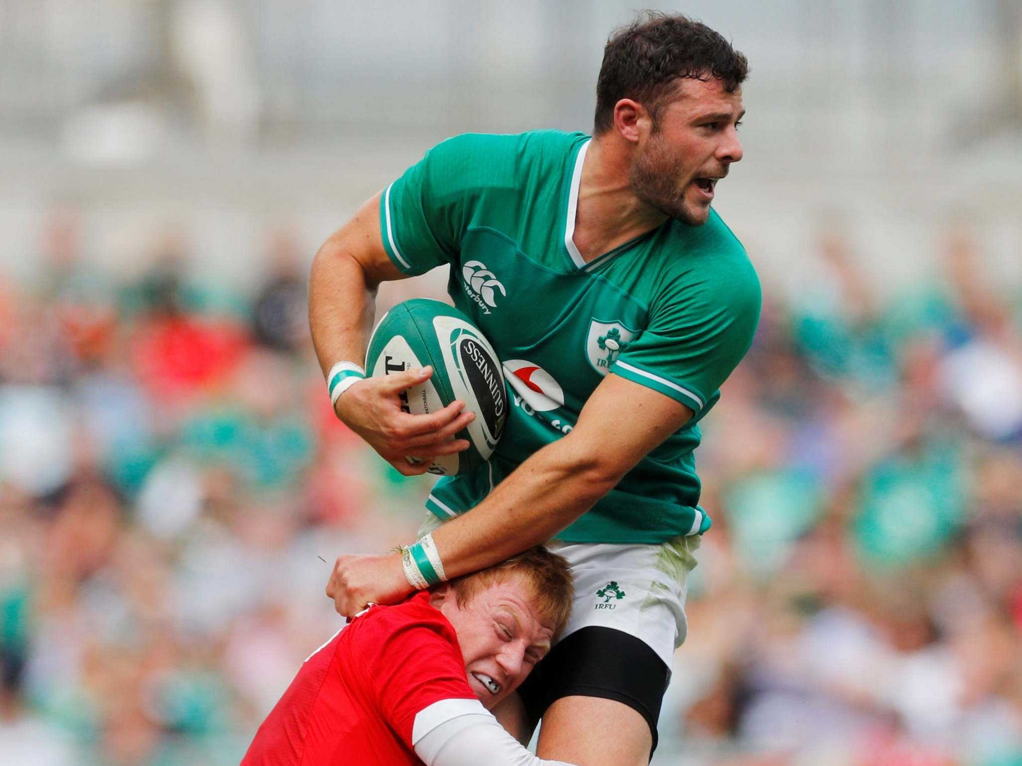 Robbie Henshaw injury: Ireland centre set to miss Scotland opener as he sweats on Rugby World Cup fitness
