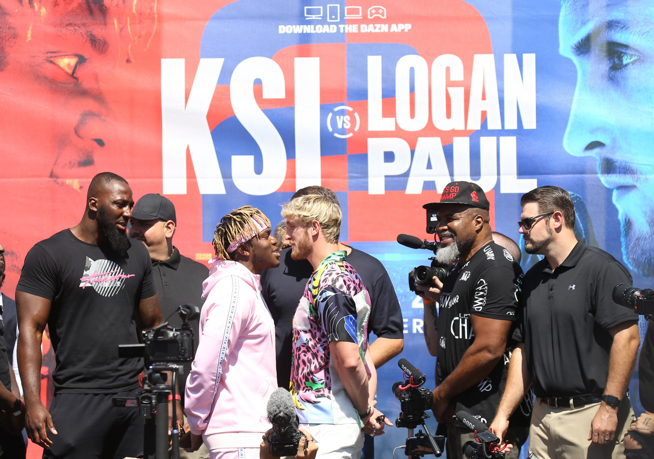 KSI vs Logan Paul: Anthony Joshua predicts who will win rematch