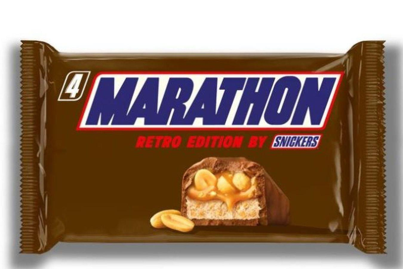 Snickers bars to be called Marathon again after nearly 30 years
