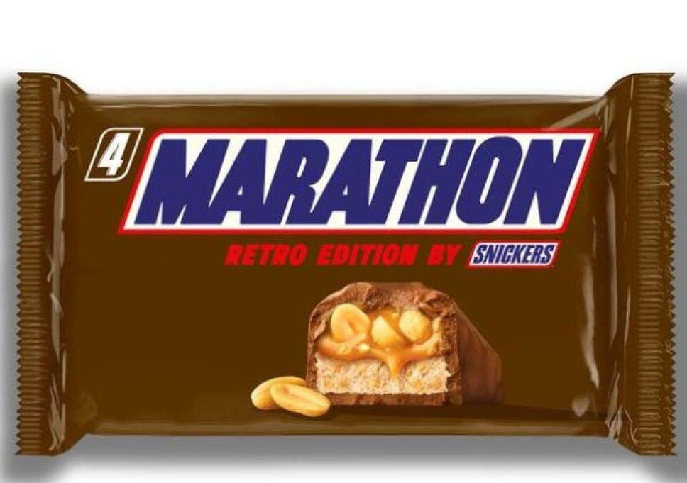 Snickers Bars To Be Called Marathon Again After Nearly 30