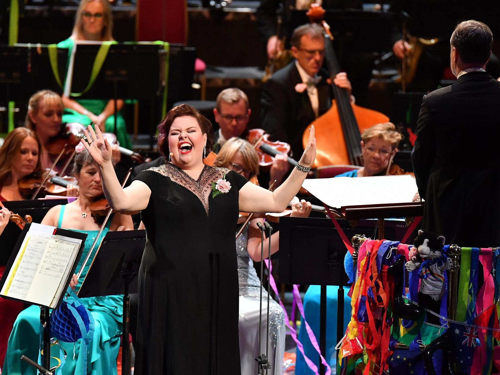 Last Night of the Proms review: Jamie Barton proudly champions bigness and bisexuality with her magnificent presence and voice