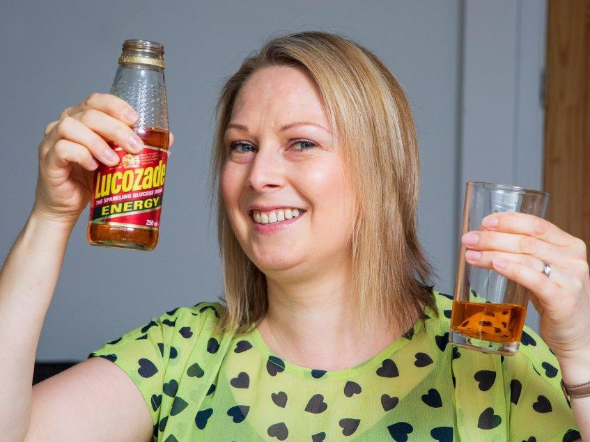 Woman finds Lucozade bottle from 1993 in childhood bedroom and drinks it