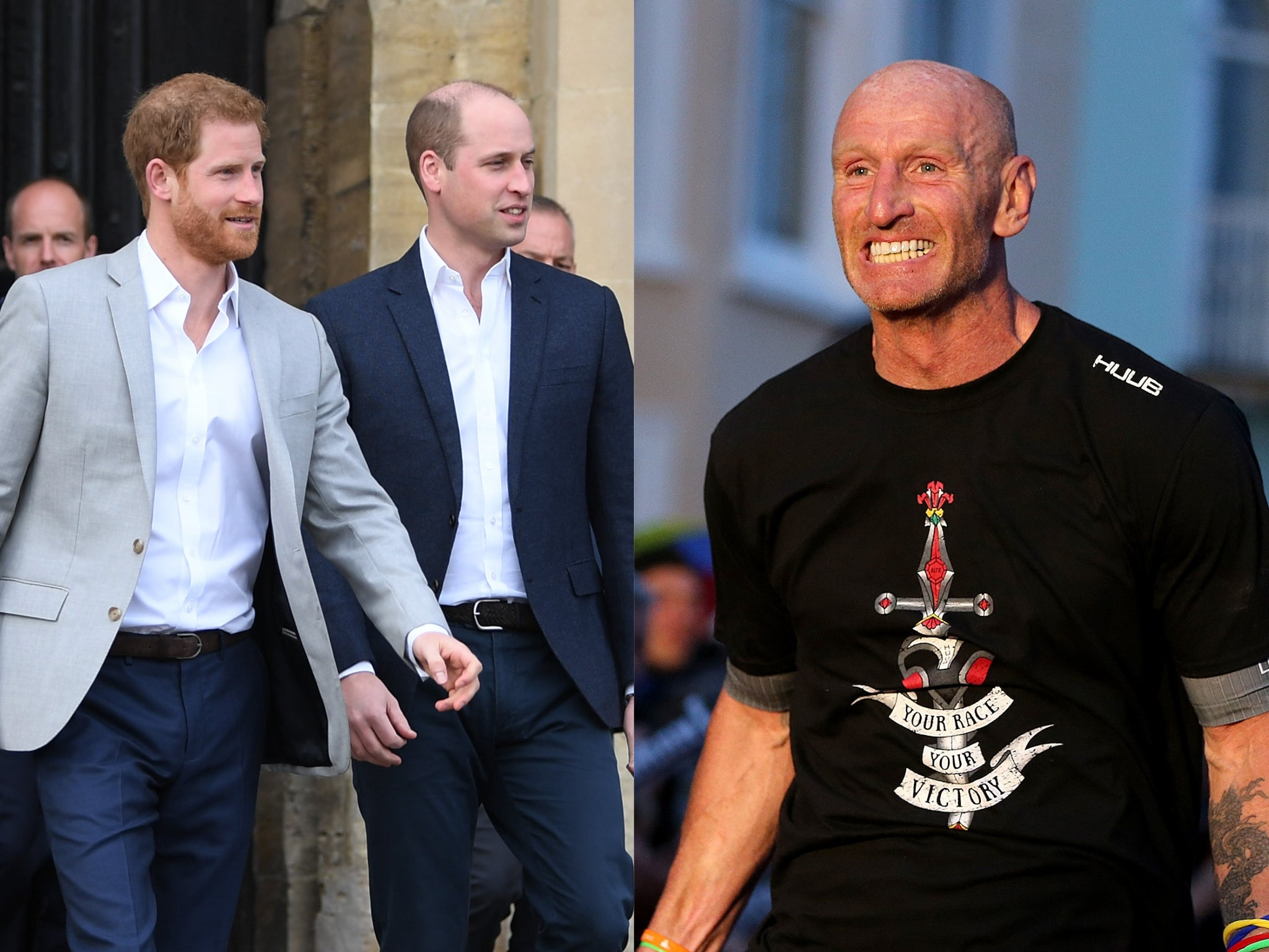 Prince Harry and William praise Gareth Thomas after he reveals HIV d…