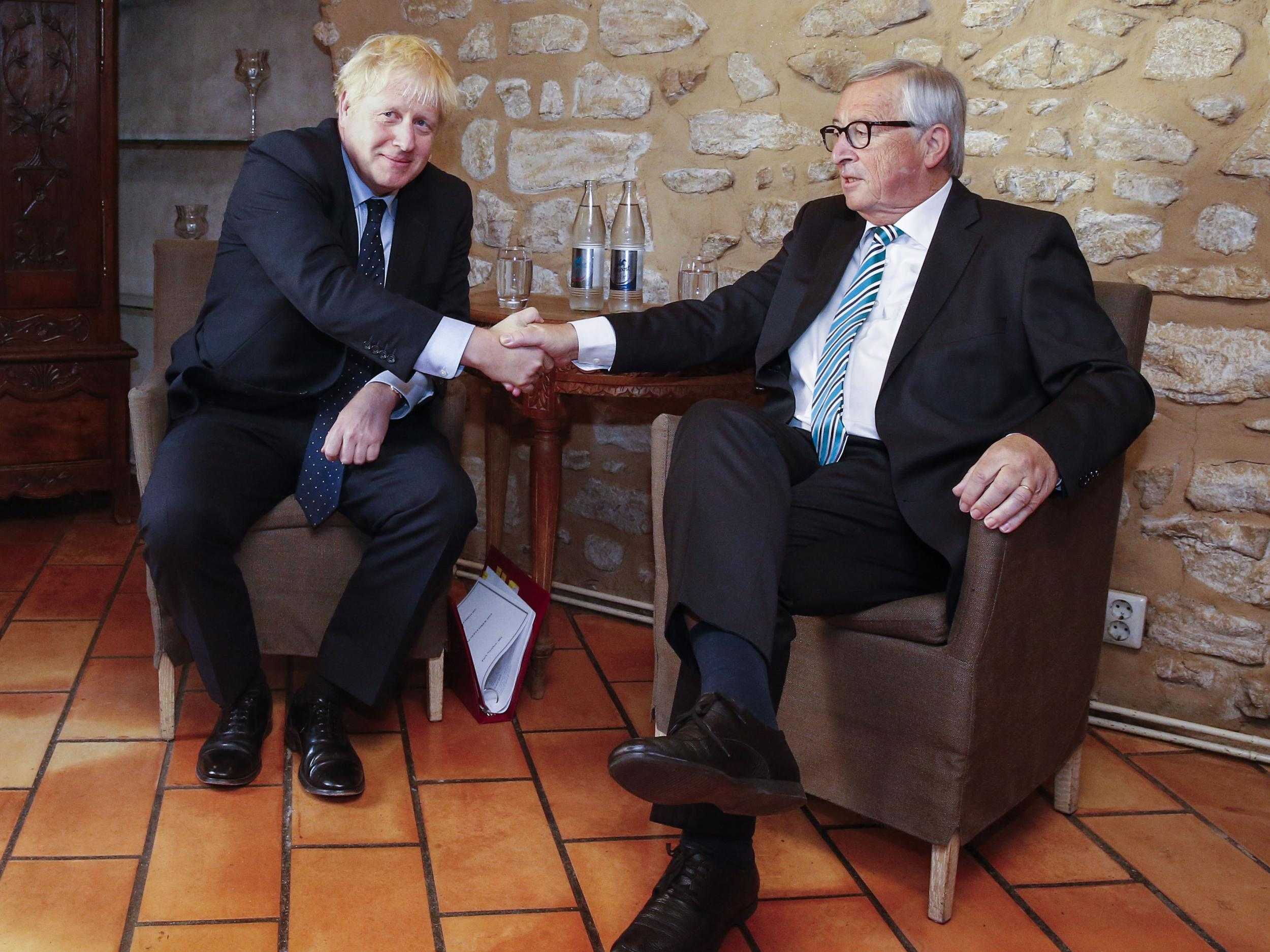 Brexit: Boris Johnson accused of being 'out of his depth' after rebuff in talks with EU's Juncker