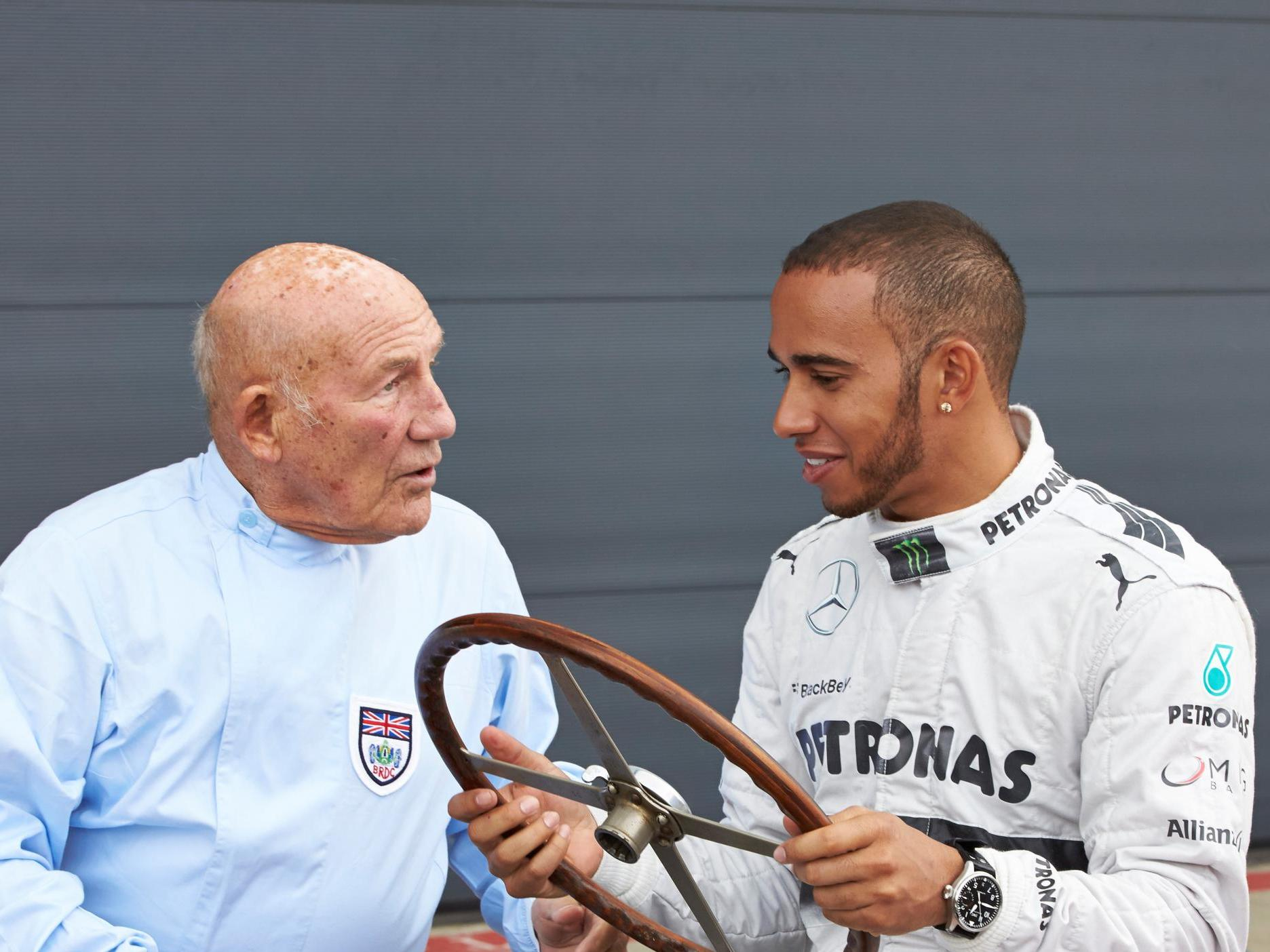 F1: Lewis Hamilton hails Sir Stirling Moss as a 'living legend' ahead of 90th birthday