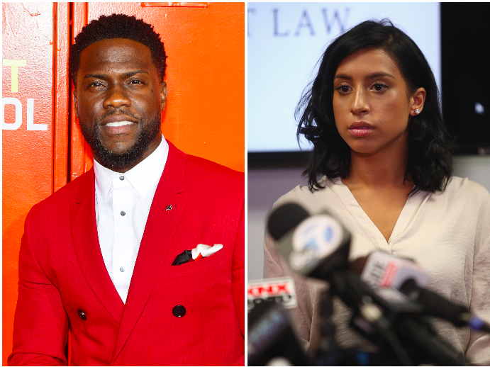 Kevin Hart sued for $60 million over 2017 sex tape by model who claims she was 'secretly recorded'