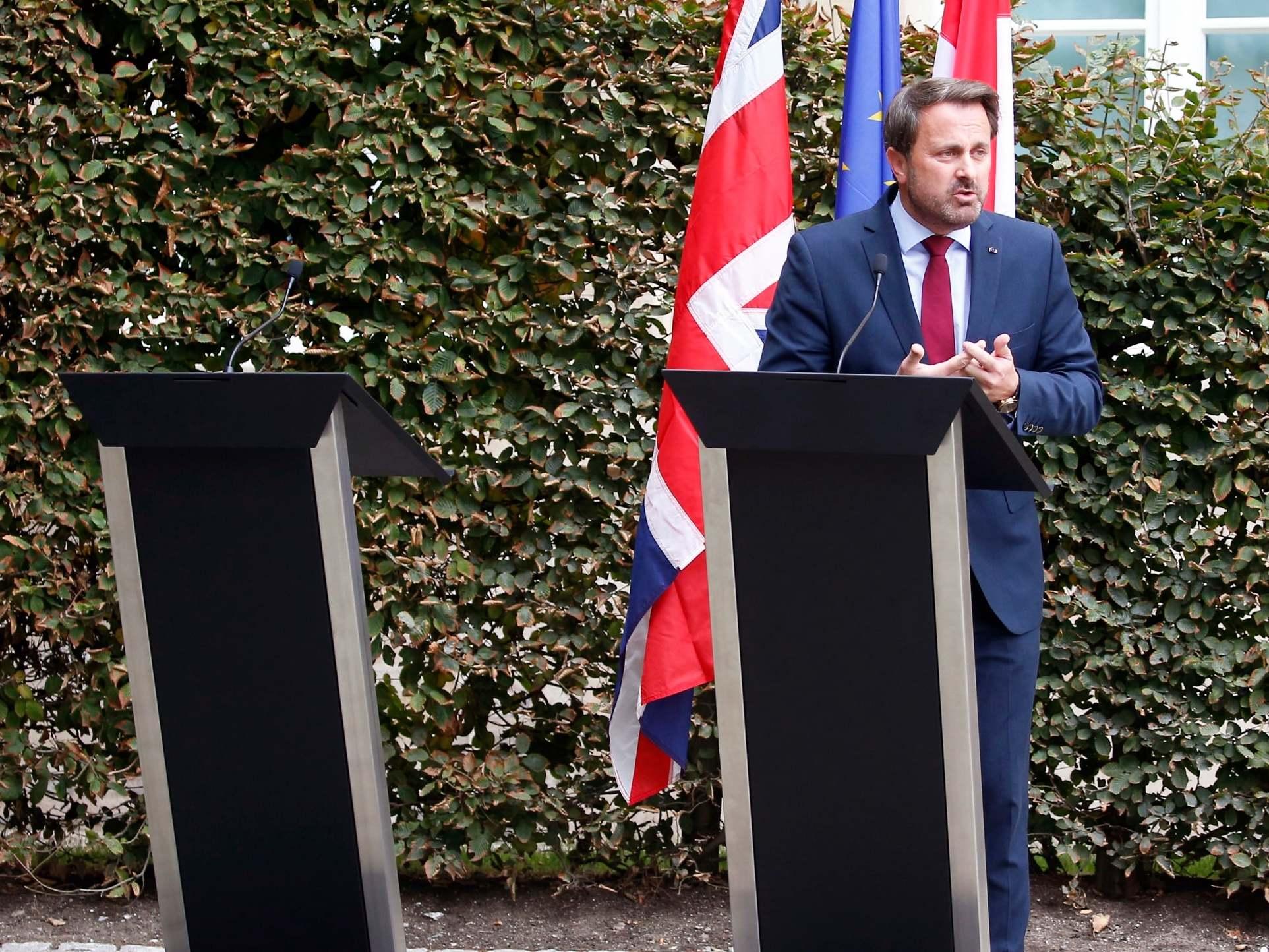 'Extraordinary behaviour': Furious Tories invoke Second World War after Luxembourg leader's Boris Johnson press conference