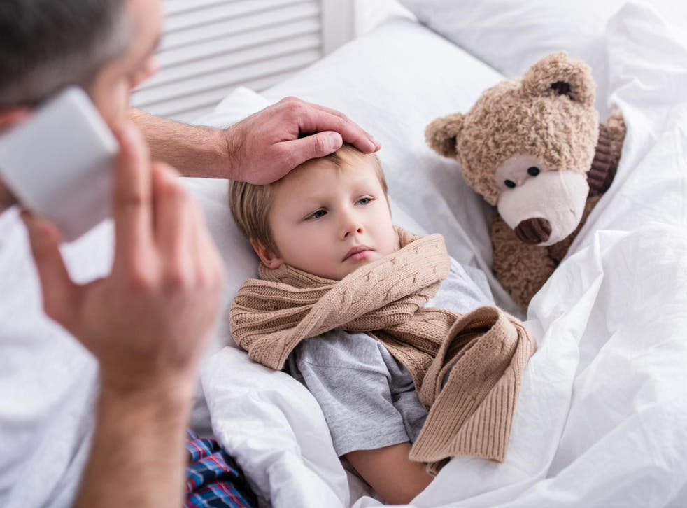 Six in ten parents asked said they had not kept their child at home when suffering from a contagious infection.