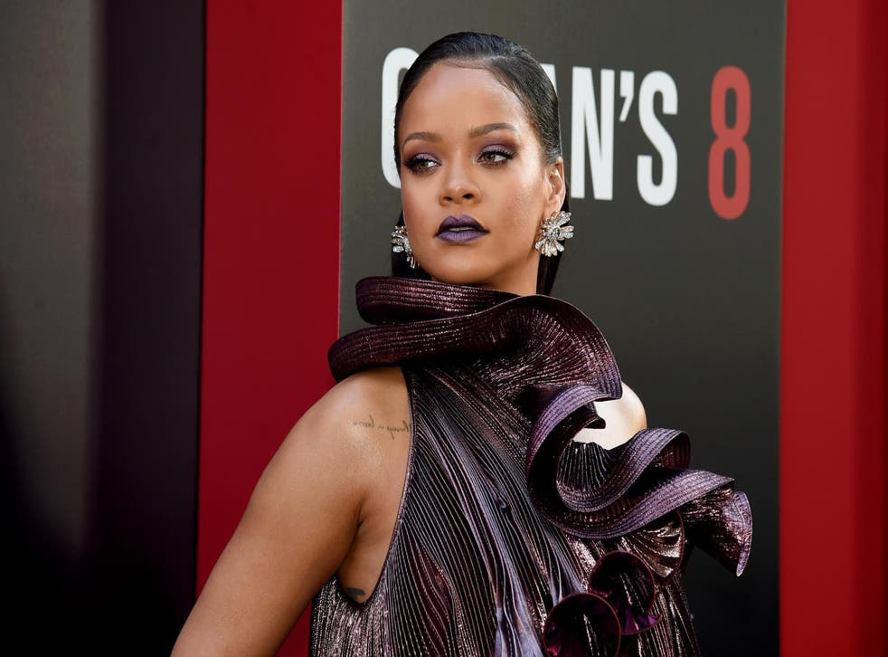 Rihanna criticised for texting during Broadway show 'Slave Play' (Getty)