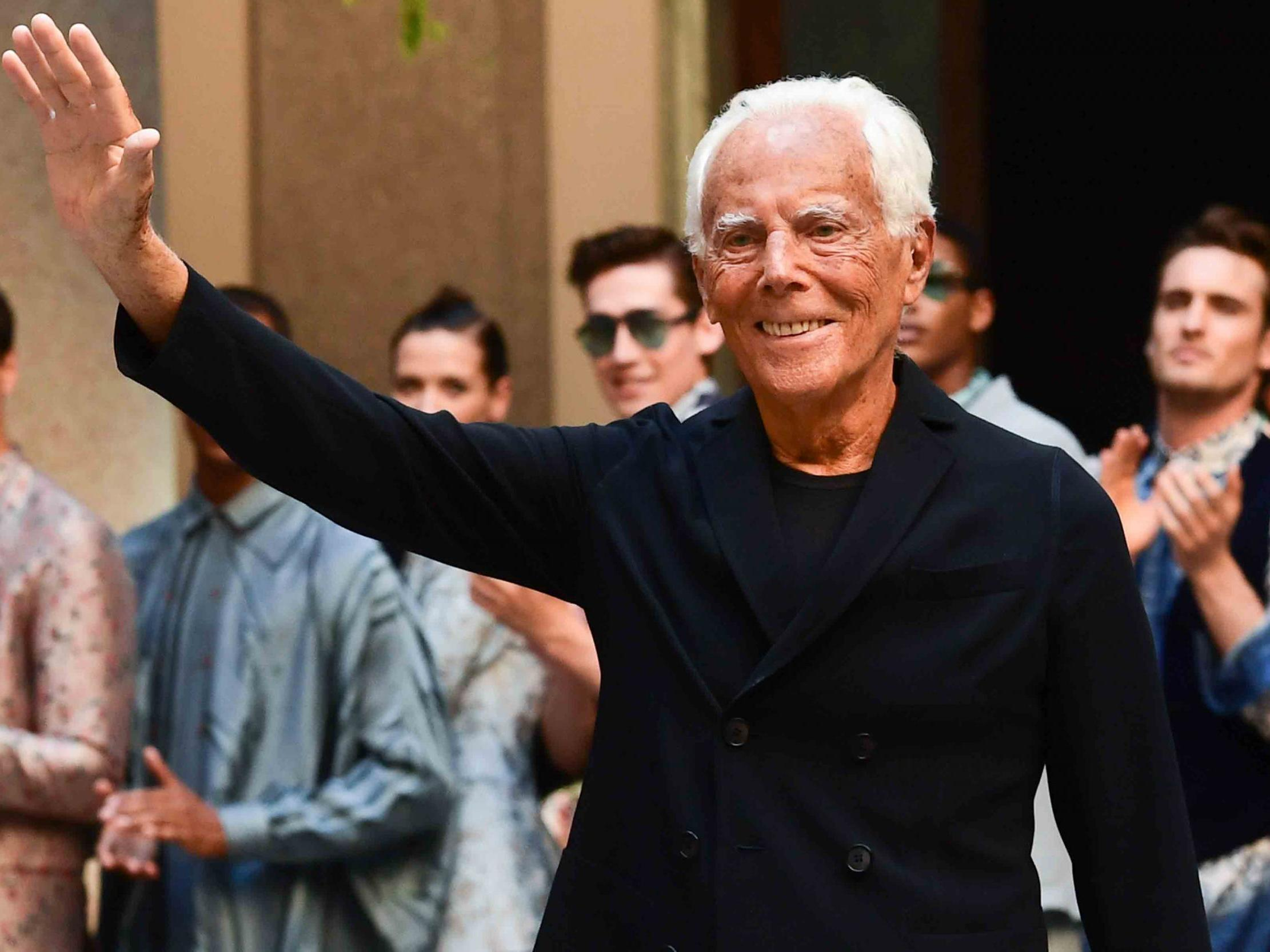 Giorgio Armani to receive Outstanding Achievement Award at 2019 Fash…