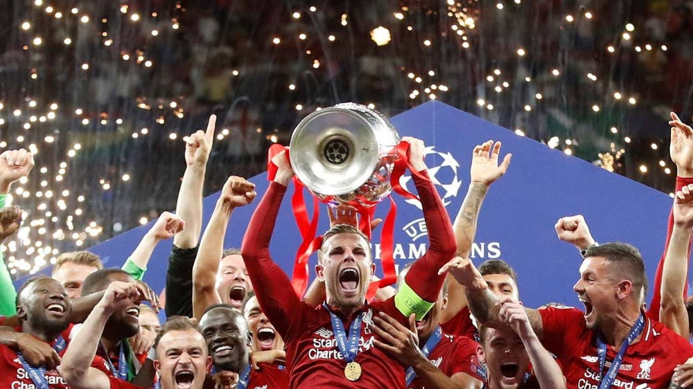 Uefa Team of the Year nominees