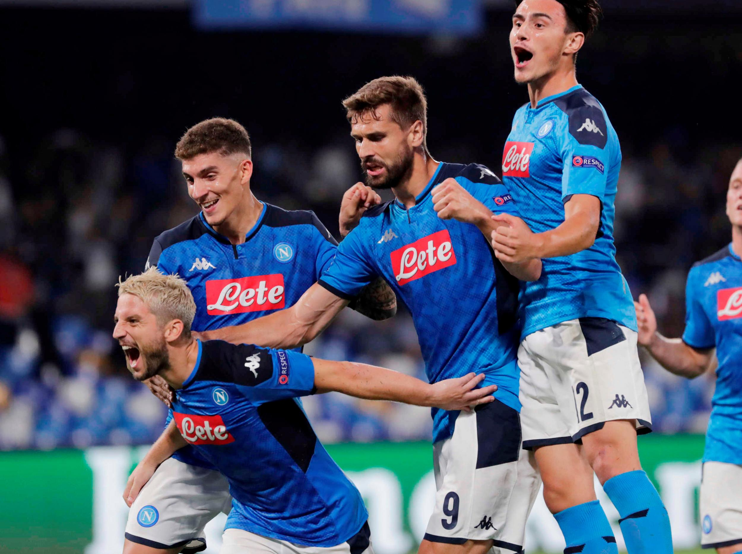 Liverpool stunned by Napoli as their Champions League title defence begins with defeat
