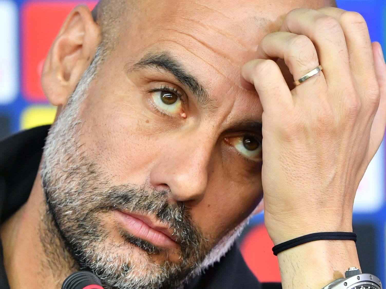 Man City: Pep Guardiola relishing 'incredible challenge' of solving defensive crisis ahead of Shakhtar Donetsk match
