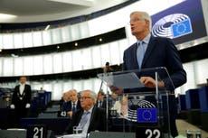EU tells Boris Johnson to stop 'pretending' to negotiate Brexit