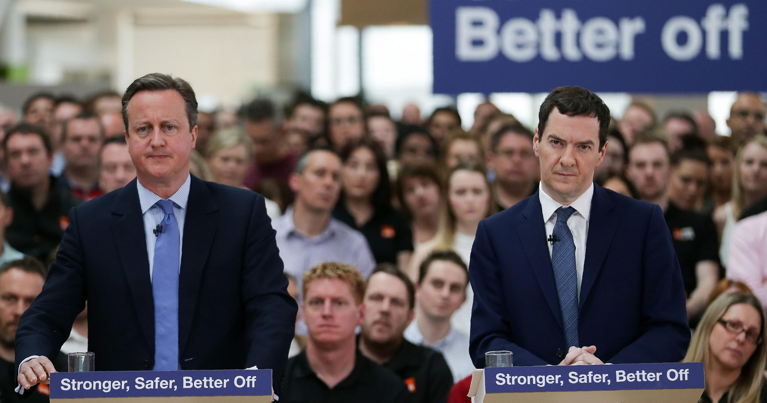 Brexit: David Cameron fuelled Leave support by blaming EU, says George Osborne
