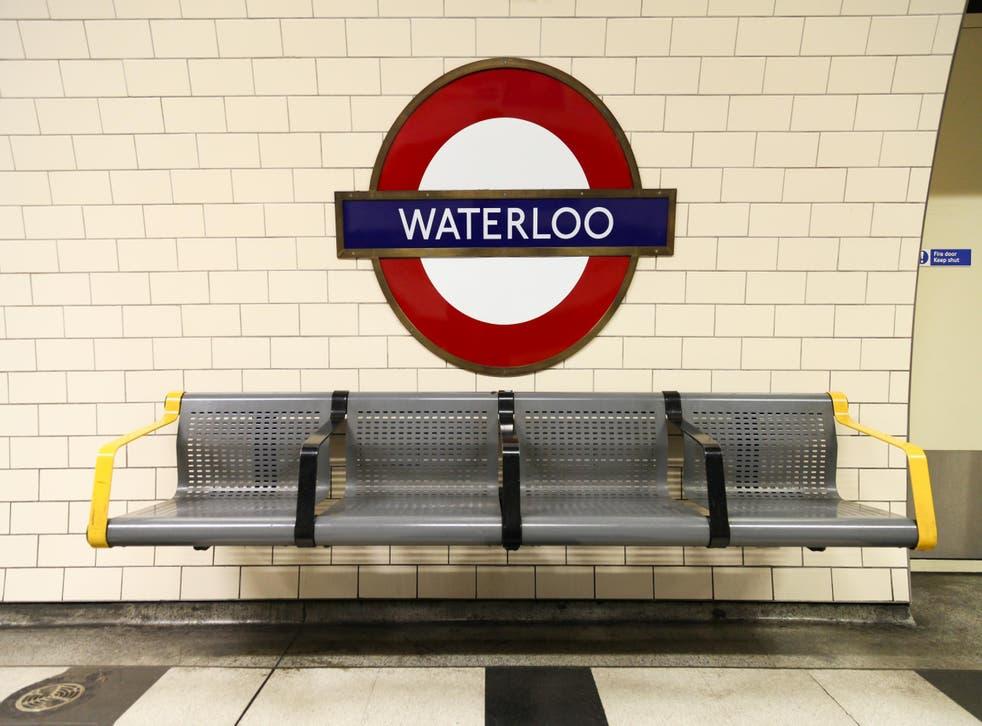 An engineer has died in Waterloo station.