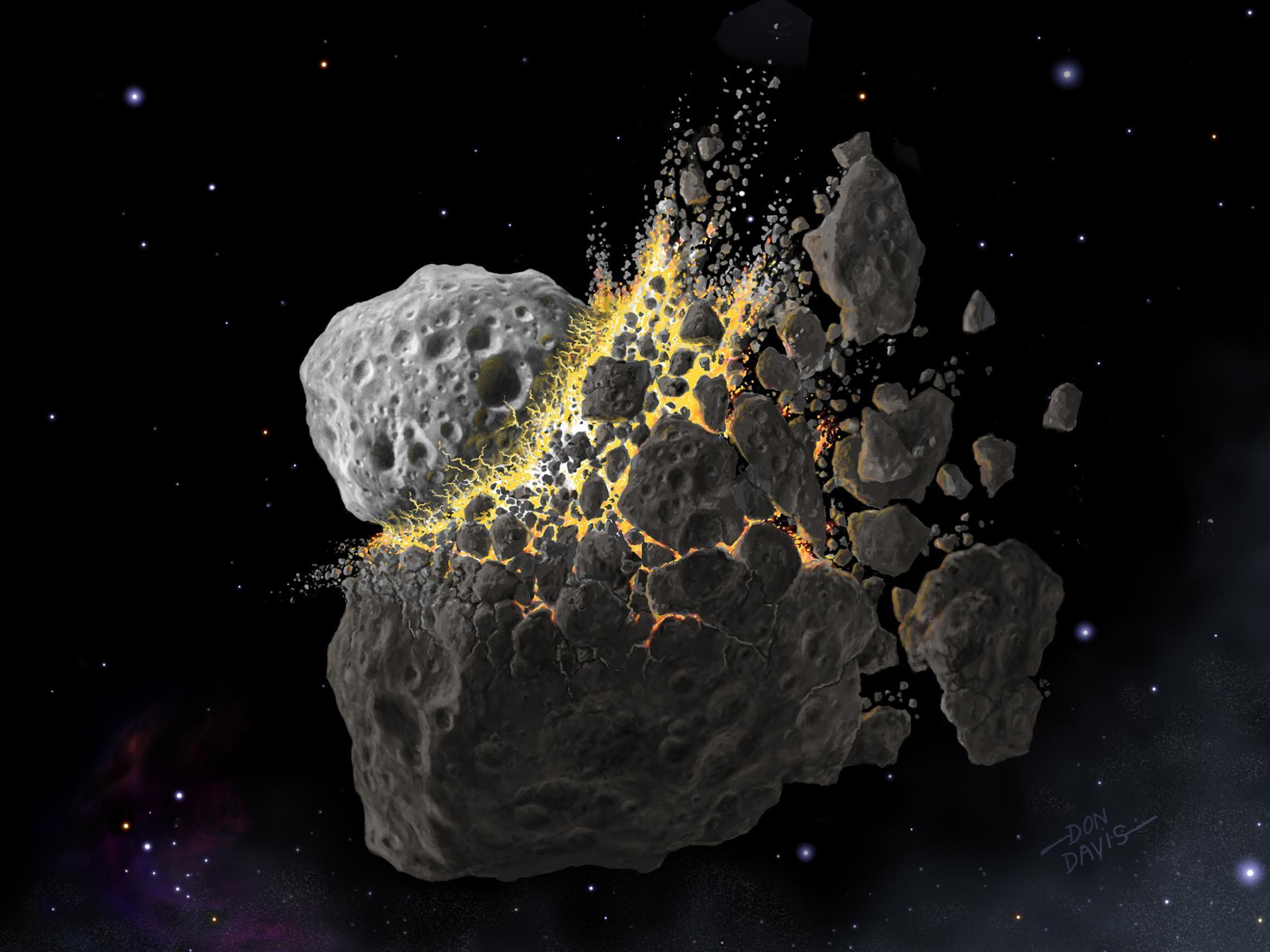Gigantic asteroid collision 470 million years ago caused Earth to freeze over, scientists say