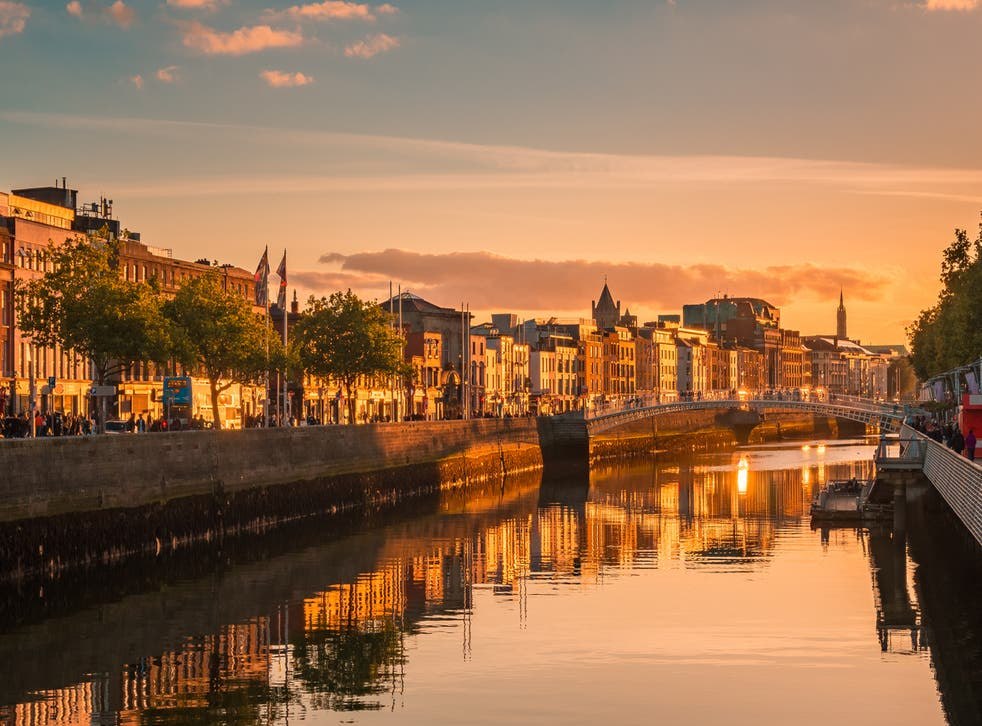 Tramp Dublin's streets and bridges this autumn