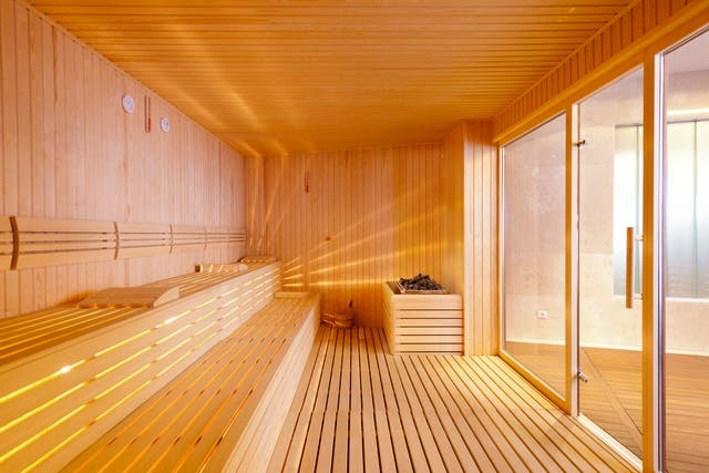 Getting your kit off is de rigueur in European saunas