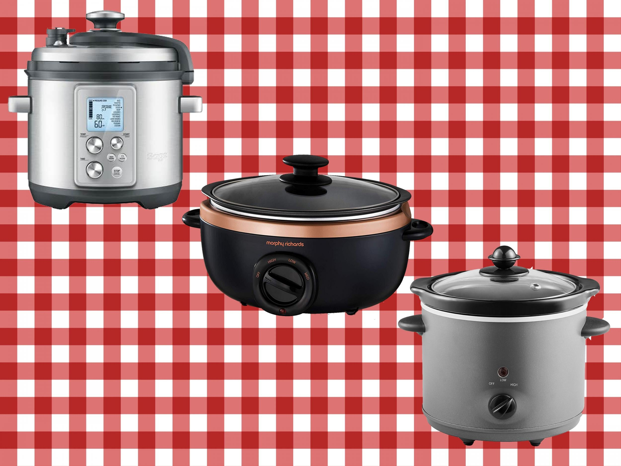 Steam Cooker With 3 Ceramic Stew Rice cooker with glass lid 24-hour Delay Timer Ceramic Stew Pot Electric Cooker Slow Cooker Healthy Cooke