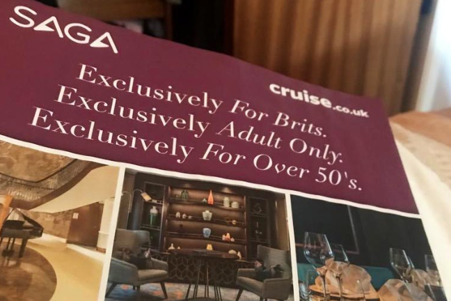 Holiday company Saga criticised for advertising cruise 'exclusively for Brits'