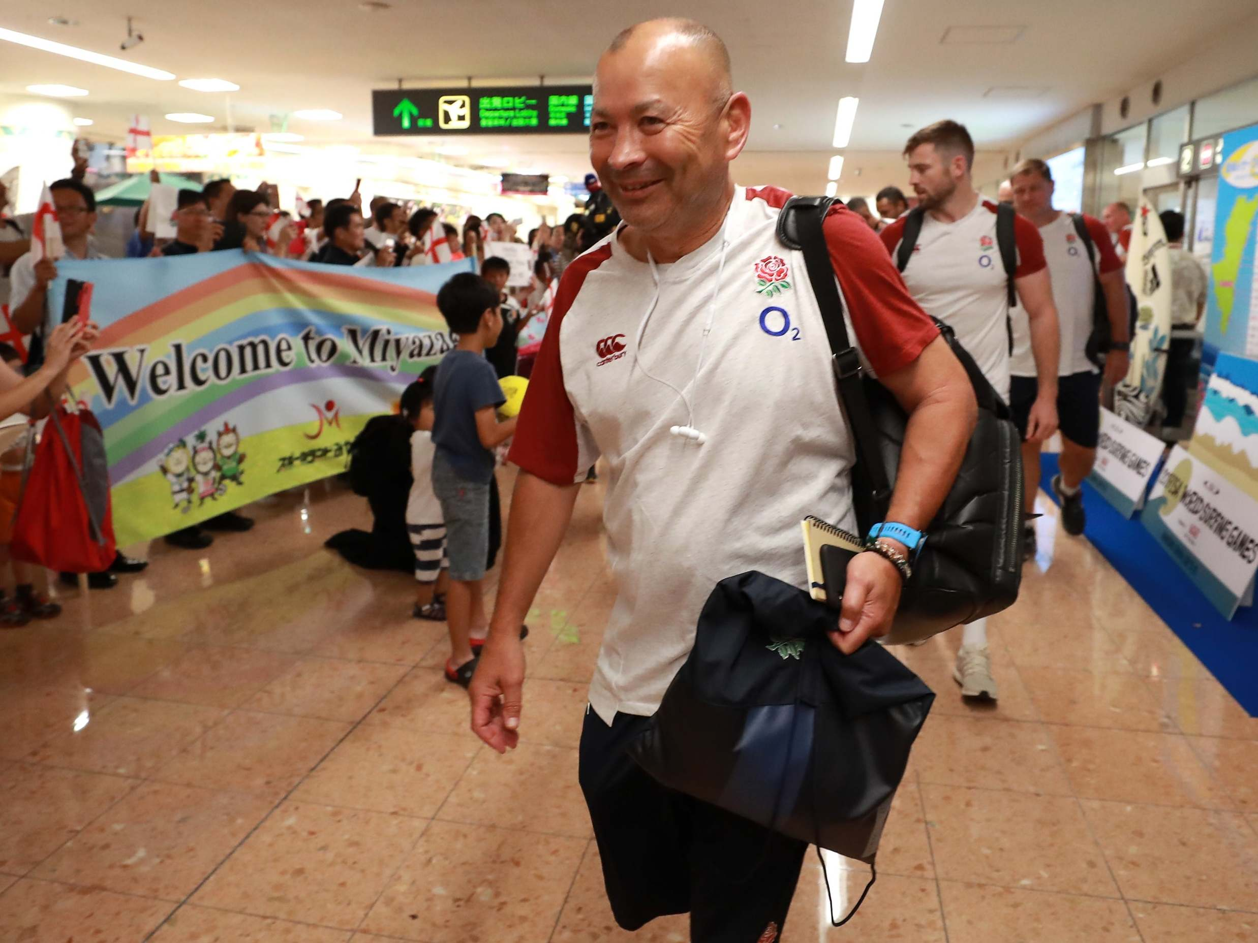 Rugby World Cup 2019: Eddie Jones making most of Japan return with numerous commercial deals