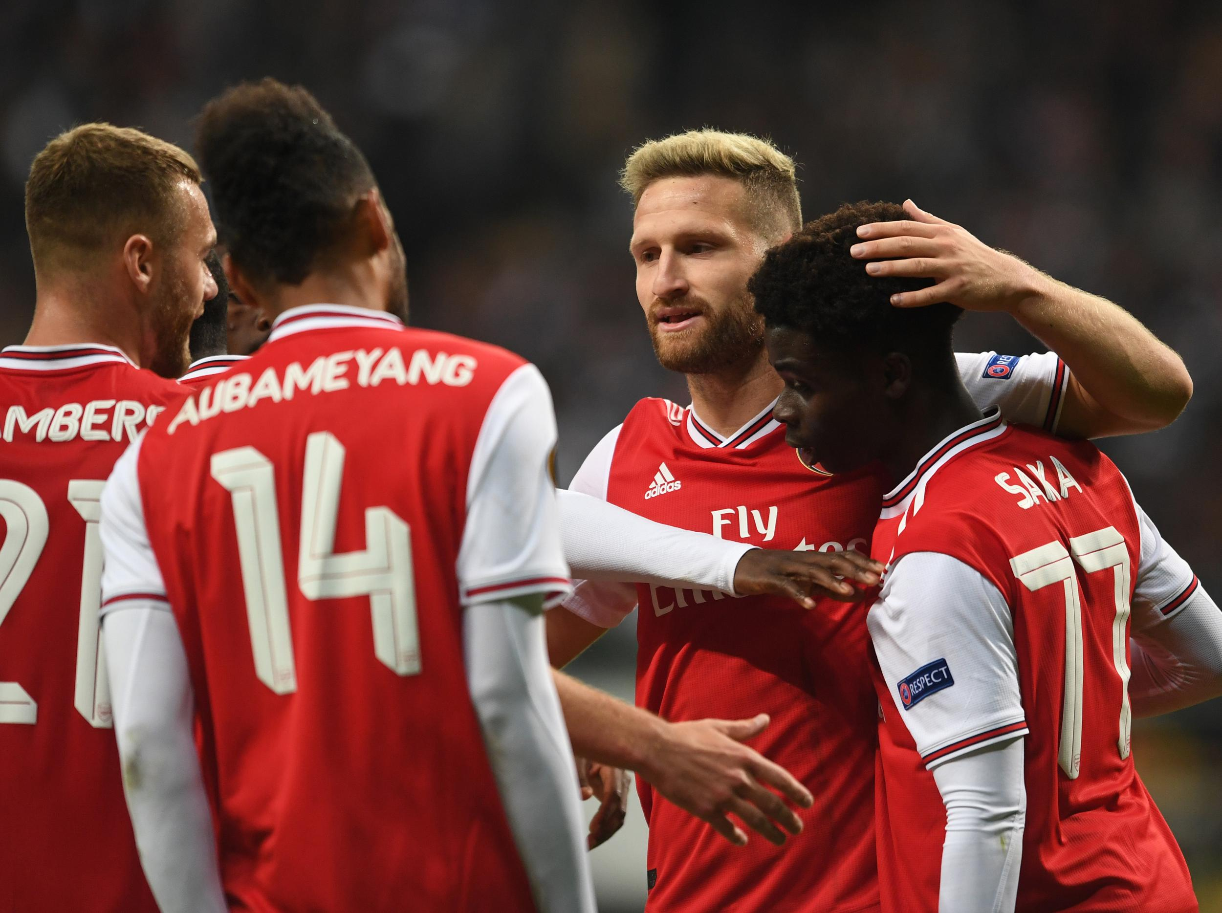 Shkodran Mustafi not planning on quick Arsenal exit: 'I have still got two years left on my contract'