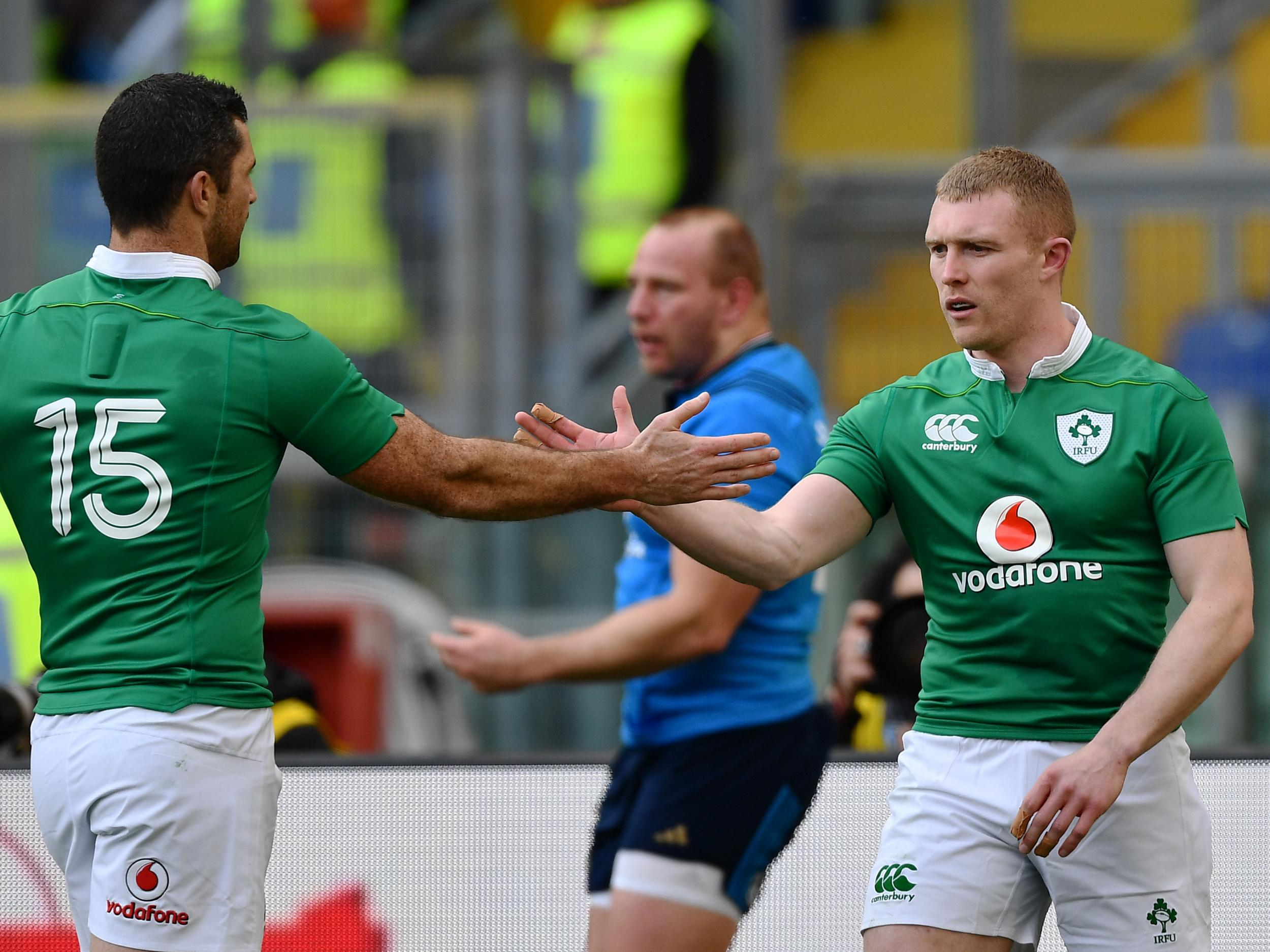 Rugby World Cup 2019: Ireland name team for Scotland clash with Rob Kearney and Keith Earls not fit to play