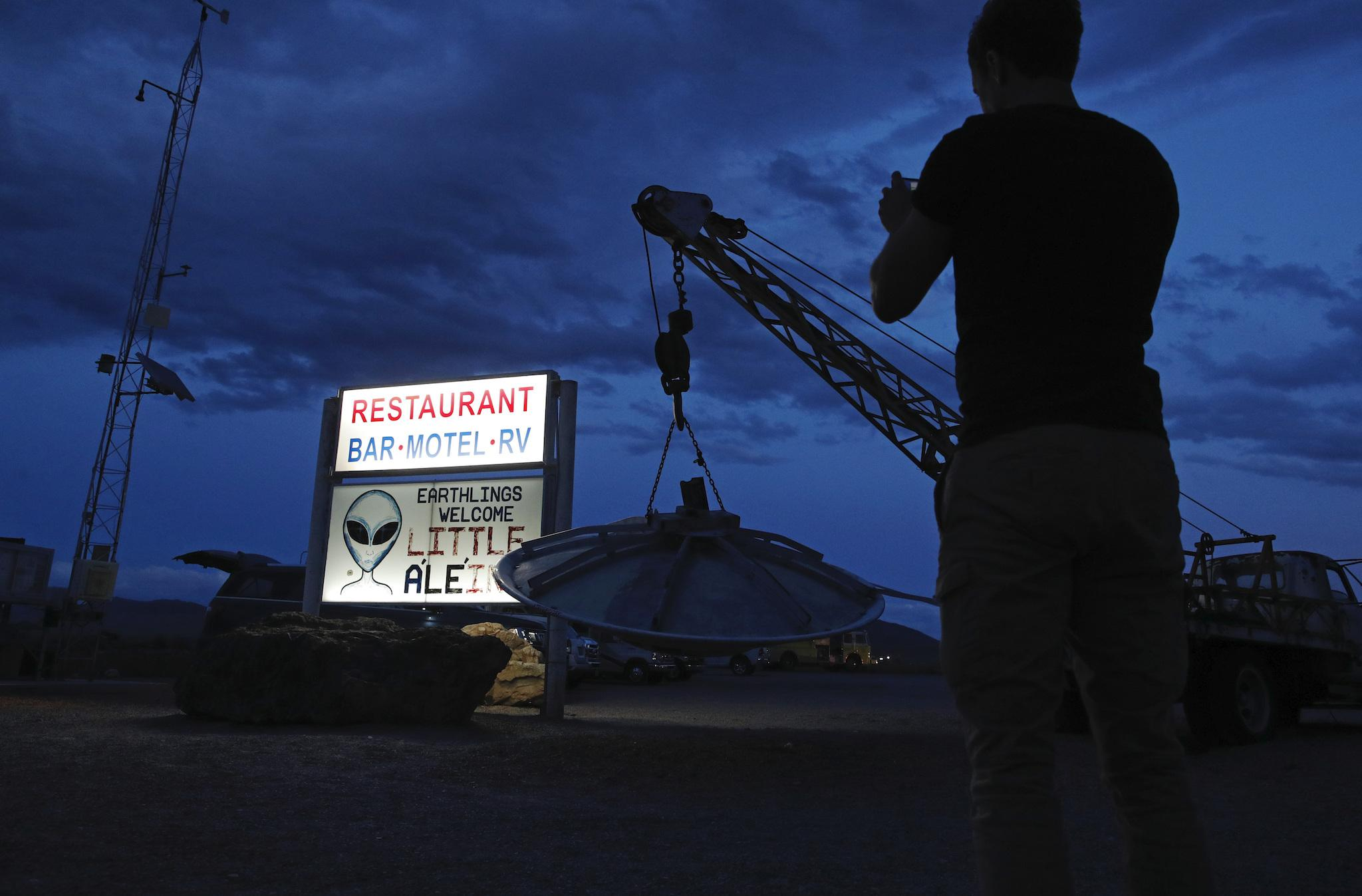 Area 51 raid – live updates: Alien hunters arrive near base amid official warnings and fears of 'humanitarian disaster'